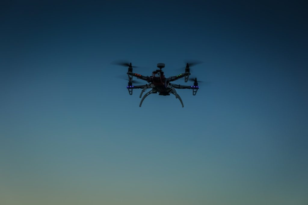 drone-at-twilight